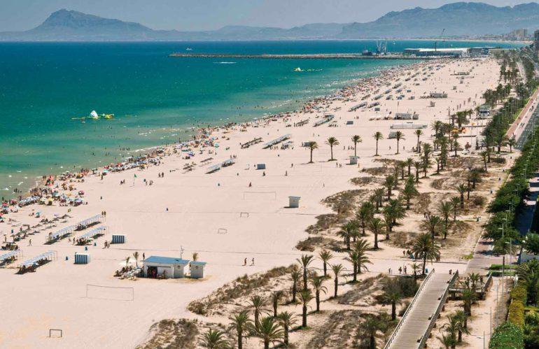 Playa de Gandia. Viaje de fin de curso a Gandia con NovaWays.