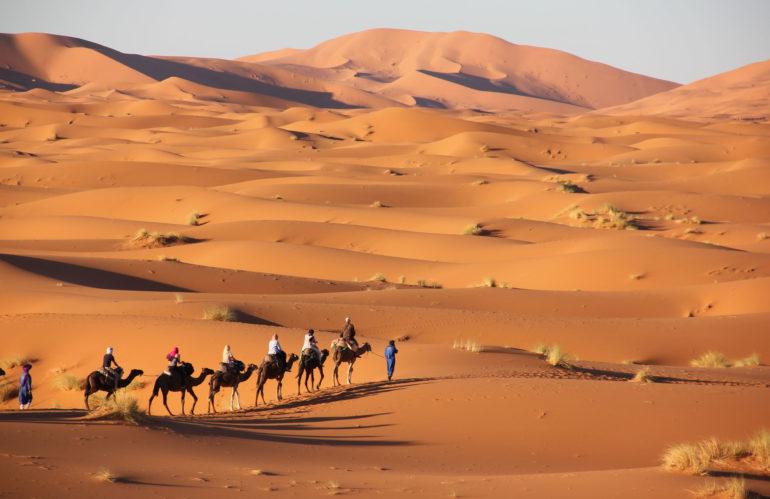 Ven a Marrakech (Marruecos) con NovaWays. Un viaje de fin de curso inolvidable con una ruta por el desierto.